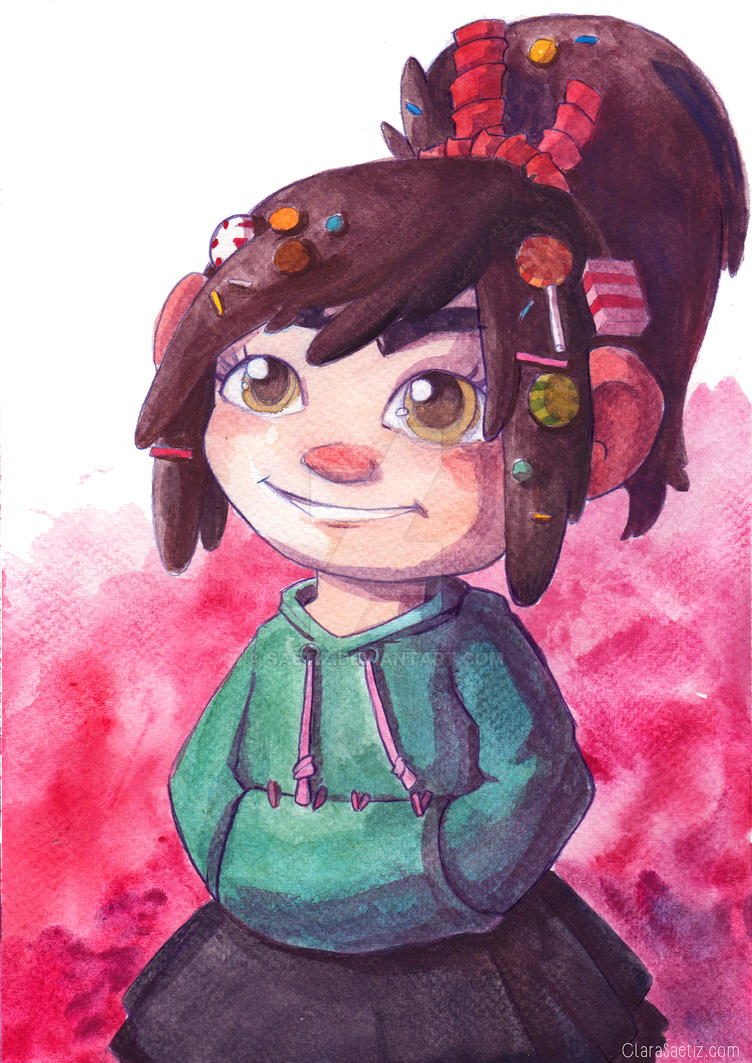 Vanellope!~Prints available by saetiz