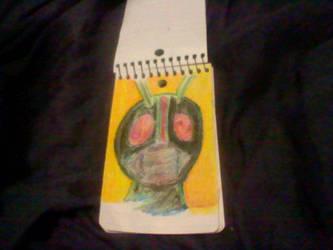 Kamen Rider Black by Mightydein