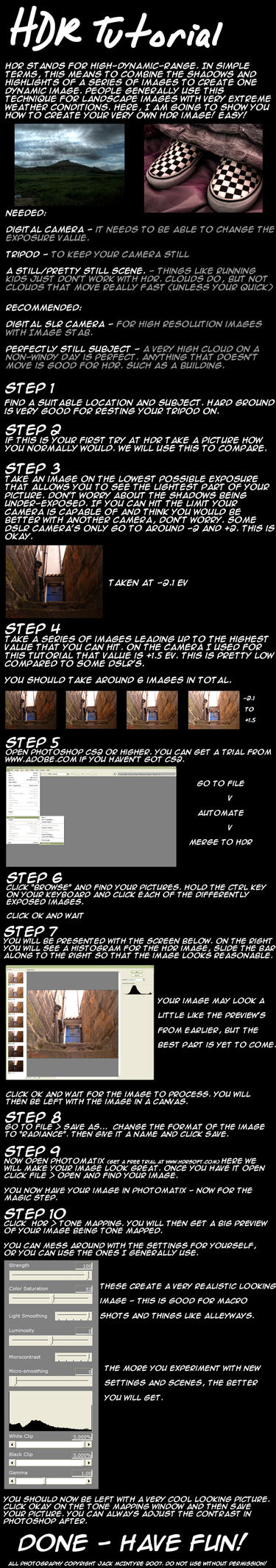 HDR Tutorial by JackMcIntyre