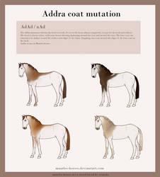 Maarlos Horse Mutation - Addra by renneka