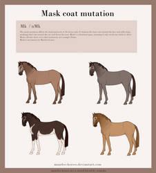 Maarlos Horse Coat Mutation - Mask by renneka