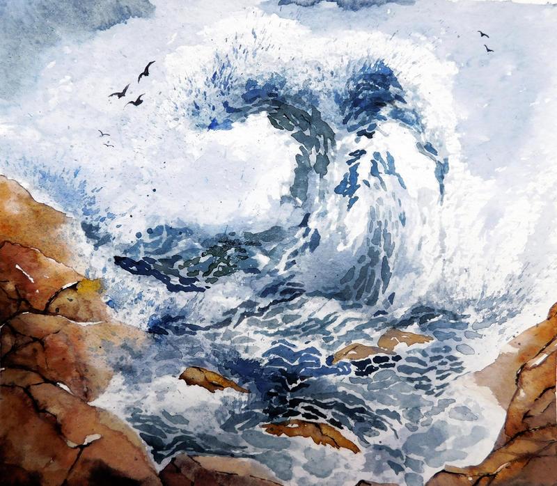 waves by Jelena-Misljenovic