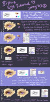 TUTORIAL (Paint Tool SAI): Bishie Anime Male Eye