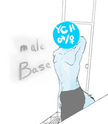 Male YCH (sfw preview) by AzureFurry