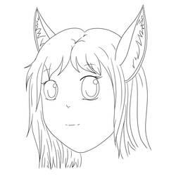 Manga Doodle #1 lineart