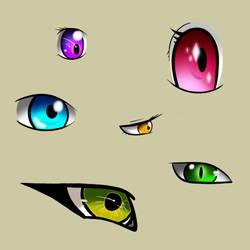 eye doodles