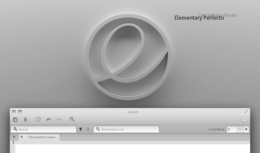 Elementary Perfecto (Elementary OS borders)