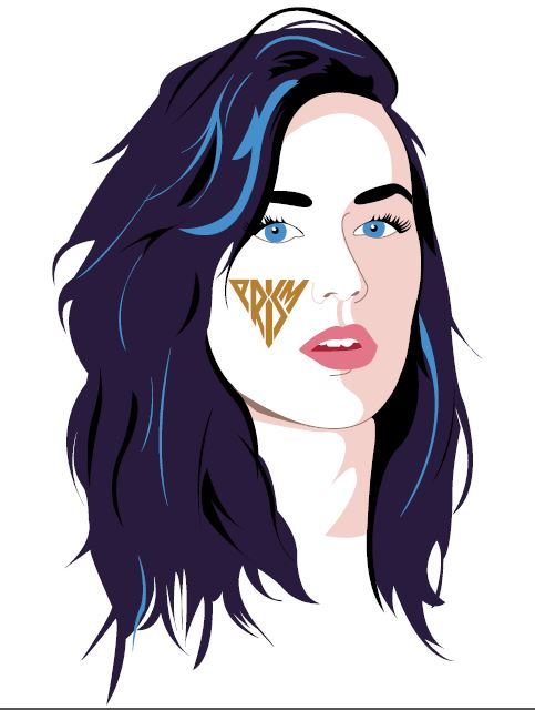 Katy Perry Prism T-Shirt design by xoalley2013xo