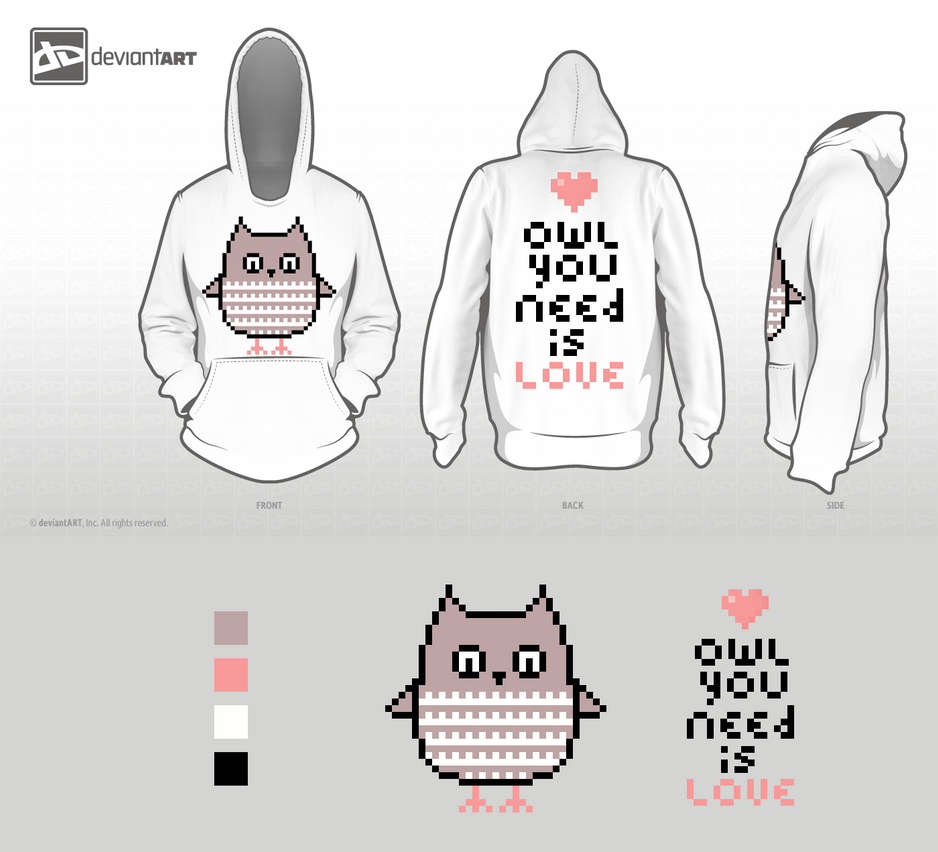 Owl you need is love Hoodie by dubbelu