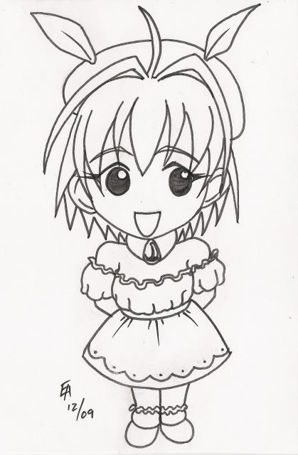 Little Snow Fairy Sugar sketch by mayorlight