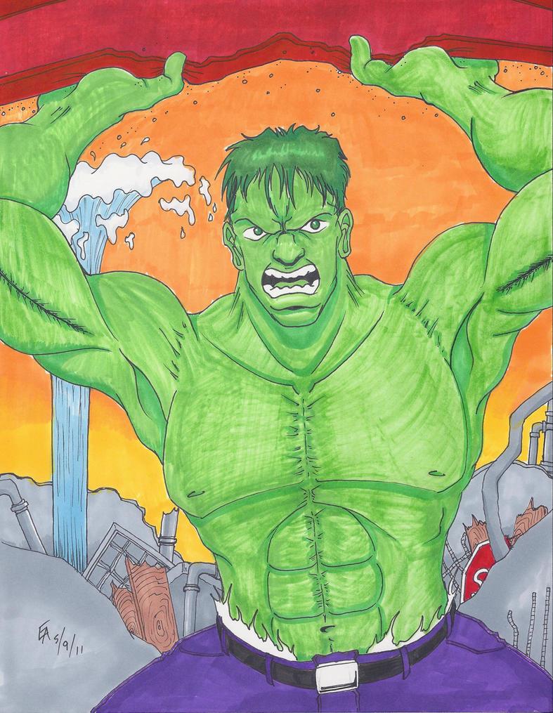 The Hulk by mayorlight