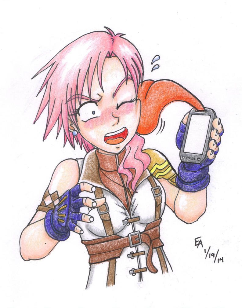 FF13 Collect Call colored version by mayorlight