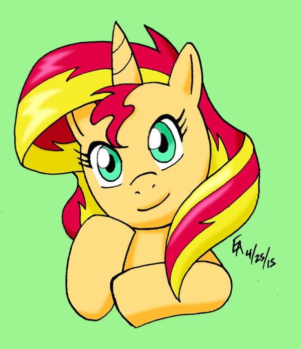 Sunset Shimmer Pony by mayorlight