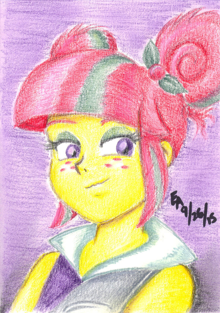 Sour Sweet Portrait by mayorlight