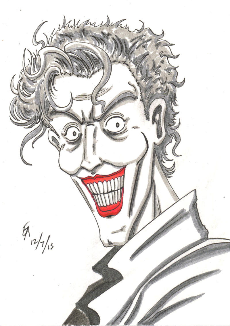 Joker sketch by mayorlight