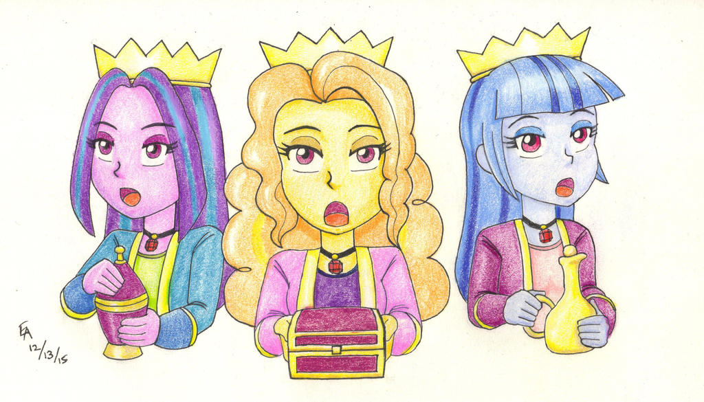 The Dazzlings - We Three Kings by mayorlight