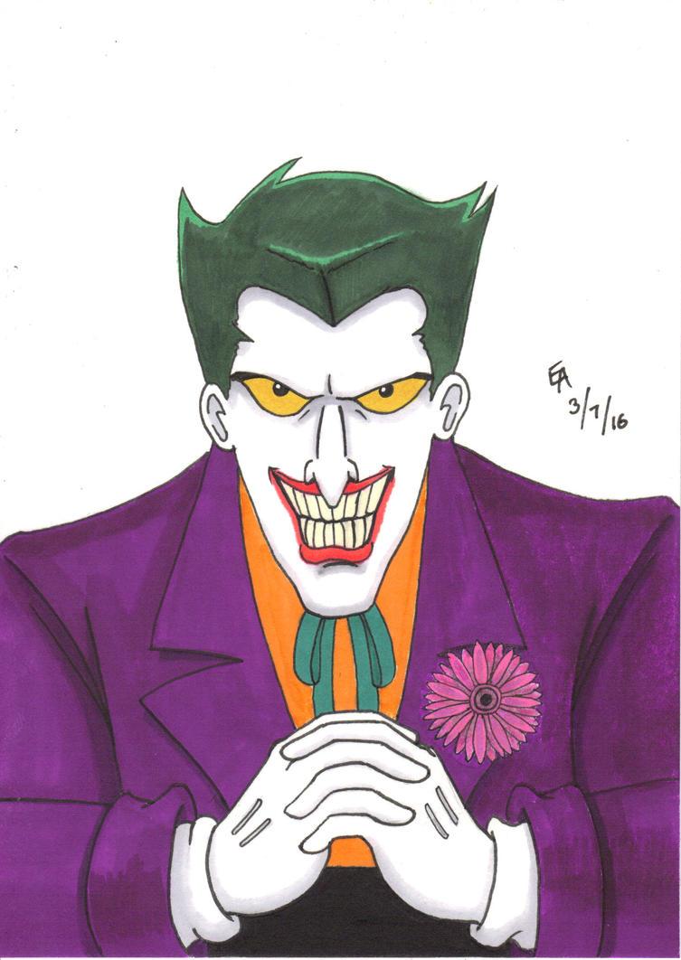 Joker TAS Portrait by mayorlight