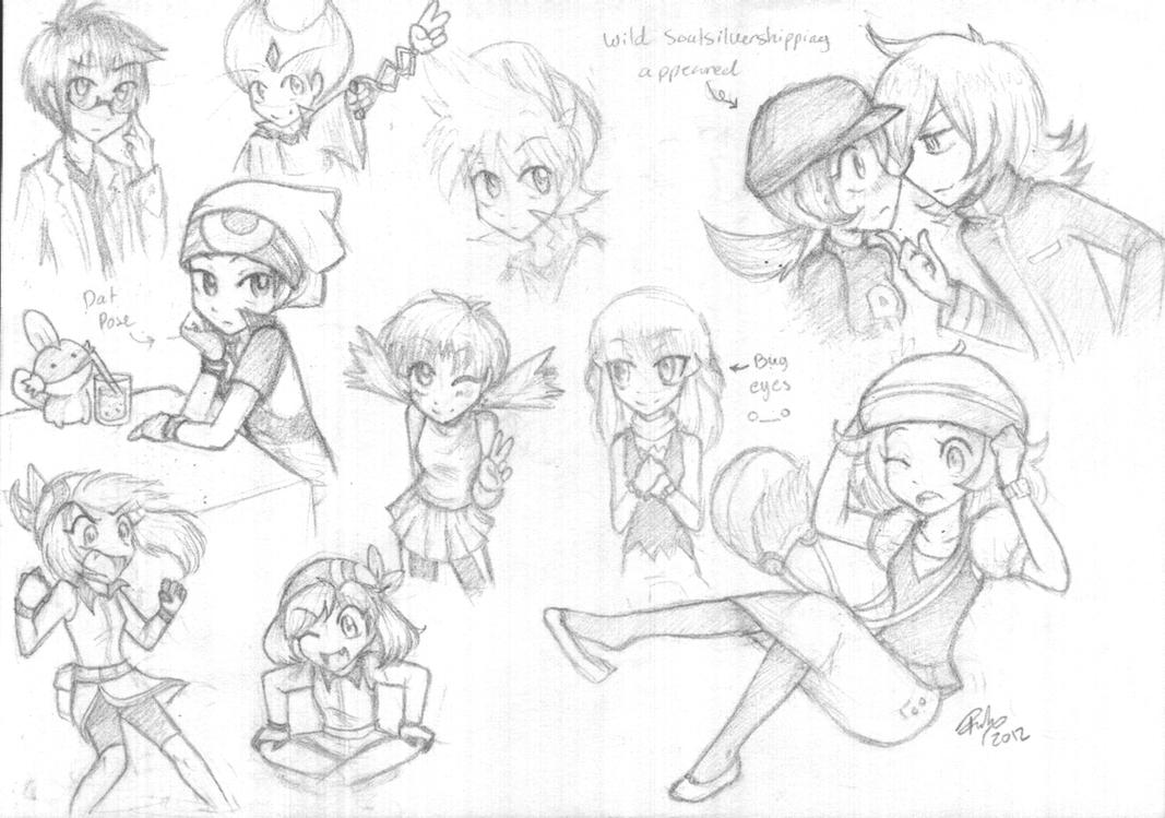 Characters I rarely draw by firehorse6
