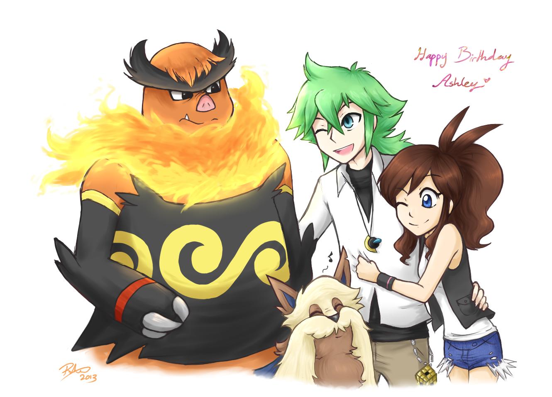 Happy Birthday Ashley!! by firehorse6