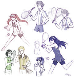 Fe Tennis by firehorse6