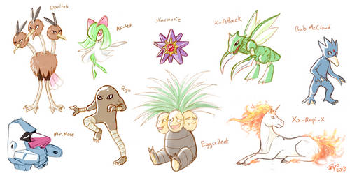 my bros' pokemon