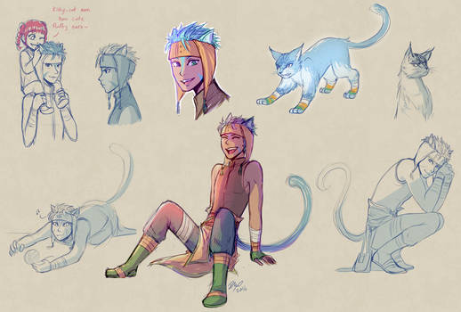 Ranulf sketches