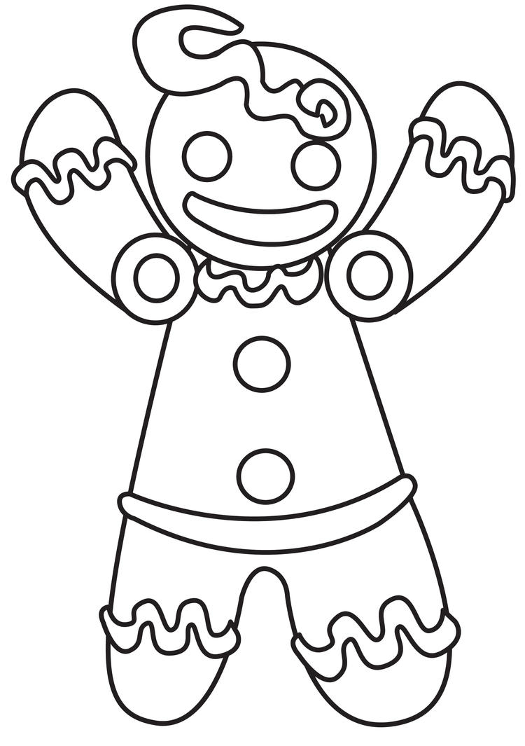 Ginger bread man coloring sheet new calendar template site for Gingerbreadman coloring page