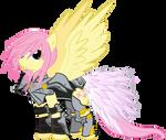 Fluttershy, Protector of Celestia