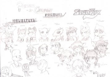 [Fanart] Compilation of characters by Snakely-Alpha