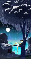  TD  Snowy Night and Yoyo