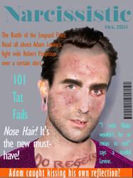 Adam Levine Mag Cover by gypsyv03