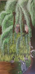 Dismal Swamp Mural Panel by gypsyv03