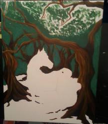 More Tree Progress by gypsyv03