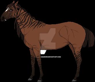 |Equum Bellum Zebra Mutation| by PixelUniqueorn