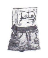 Spongebob Gothy Pants by ramsey-darkstar