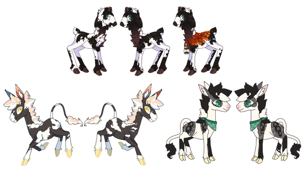 [bepotelkh] Piebald Fawns