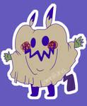 Mimikyu Smokey by somni-sing