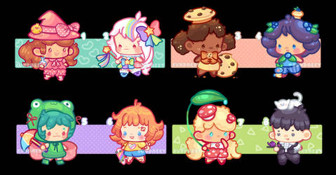 Chiblettes/flat-price-open 9/12