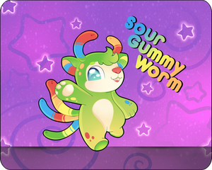 -AB ADDED-Sour Gummy Worm Auction Closed