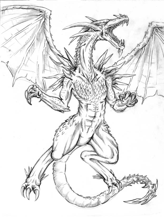 Dragon Drawing 1 by DarkNaruto2KX on DeviantArt