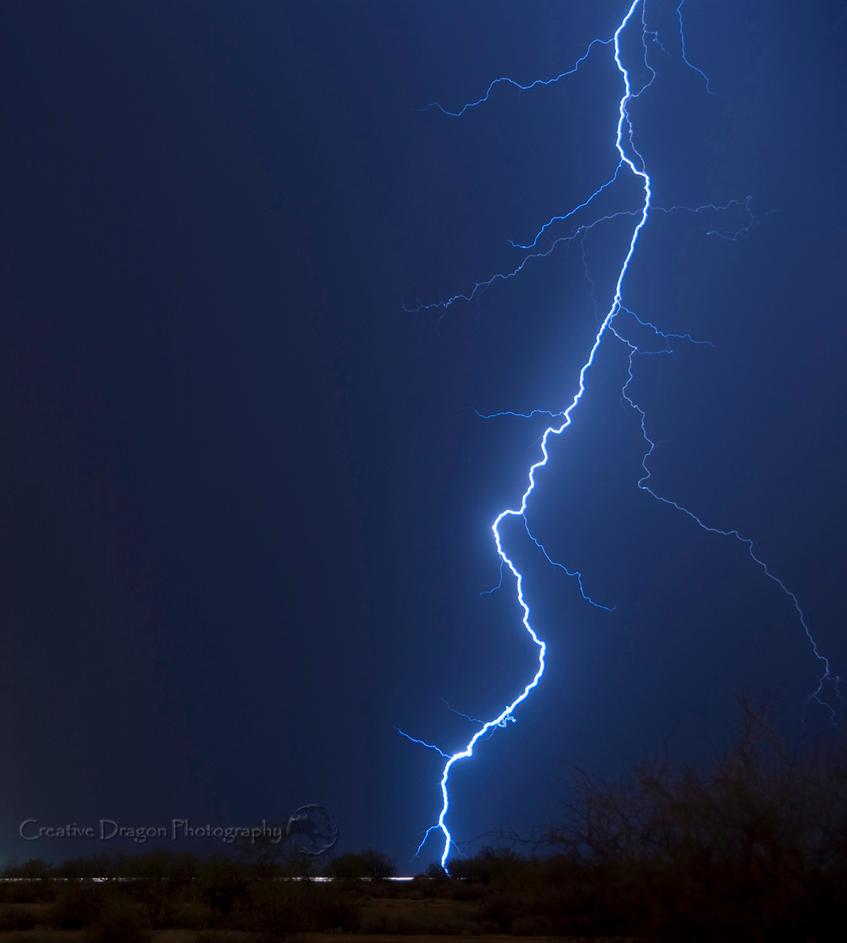 Lightning in AZ 02 by Creative--Dragon