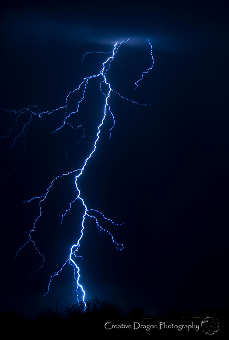 Lightning in AZ 03 by Creative--Dragon