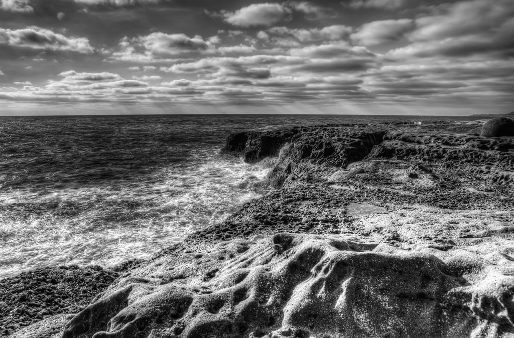Turbulent Waters BW