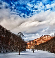 Bad Urach Winterscape HDR by Creative--Dragon