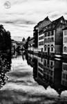 Strausburg River Scene HDR