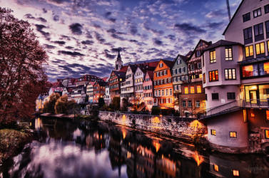 Reflections of Tubingen by Creative--Dragon