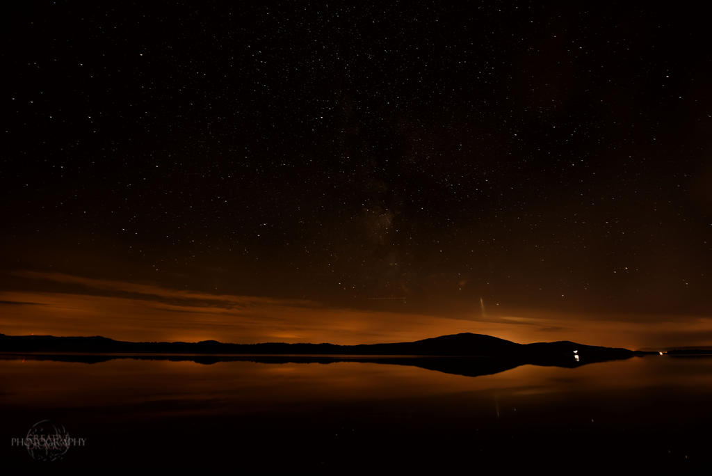 Lough Gille Starry Night by *Creative--Dragon