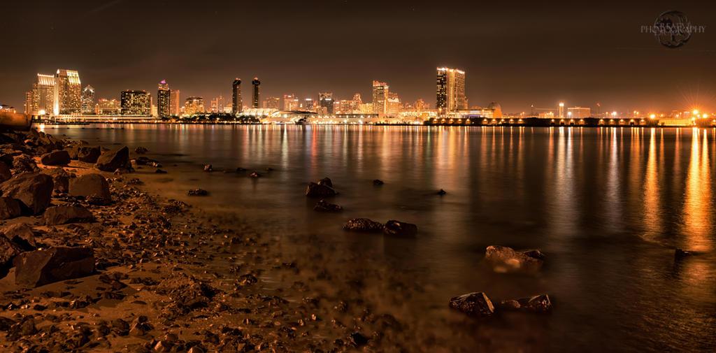 Downtown San Diego by Creative--Dragon