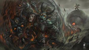 Demon Hunter - Dark Monk