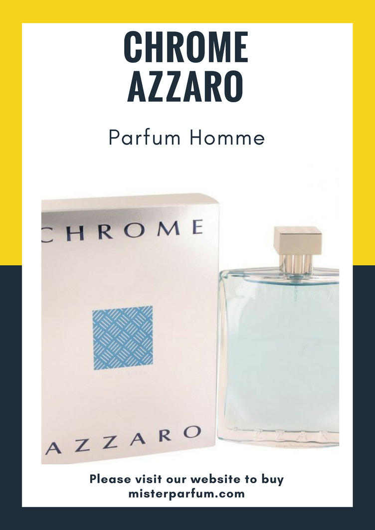 Chrome Azzaro Parfum Homme by Mister Perfum France by MarisolHackett